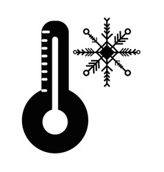 contour thermometer measure instrument to know the vector image