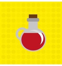 delicious wine design vector image
