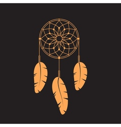 dream catcher Dream catcher icon vector image