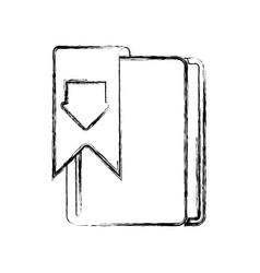 E-books books purchase and download vector