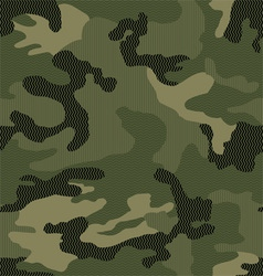 Micro pattern camouflage seamless vector image