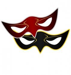 Realistic carnivals mask vector