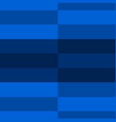 retro blue shades horizontal stripes vector image