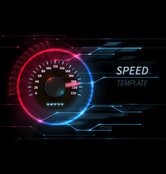 Speed motion line abstract tech background vector
