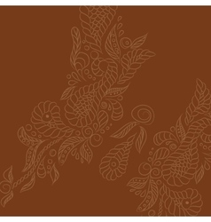 background Brown buttrefly vector image