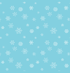 Christmas seamless pattern with handdrawn vector