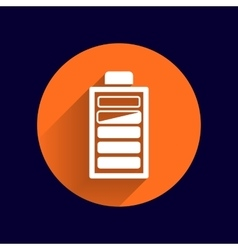 icon power load sign symbol supply level vector image