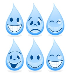 Smile a drop vector