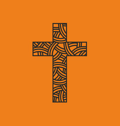 the cross of jesus christ vector image