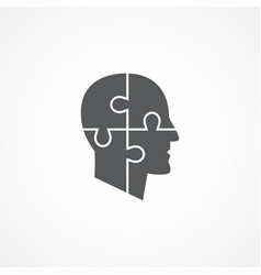 psychology icon vector image