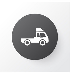 truck icon symbol premium quality isolated van vector image vector image