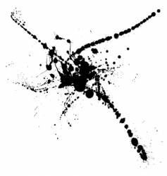 splat spread vector image vector image