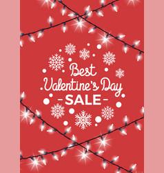 best valentine s day sale vector image