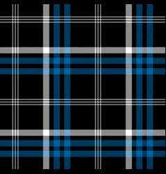 Black check pixel square fabric texture seamless vector