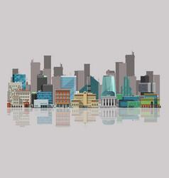 Cityscape urban landscape vector
