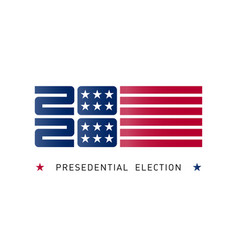poster for united states presidential vector image