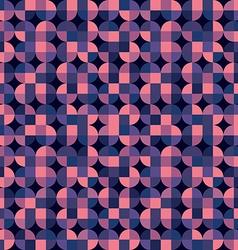 Quatrefoil colorful geometric background purple vector