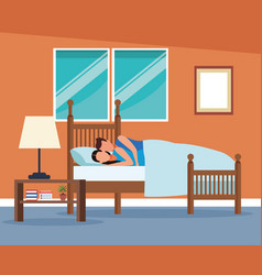 routines at home vector image