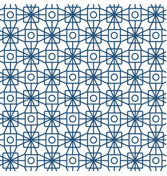 Seamless pattern abstract patchwork with geometric vector
