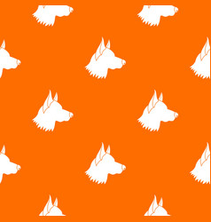 Shepherd dog pattern seamless vector