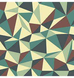 Triangle pattern vintage vector