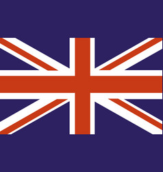 uk country flag vector image