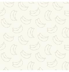 Banana seamless pattern vector