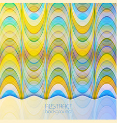 abstract light dynamic background vector image