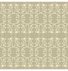 Beige neutral floral plant background vector