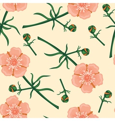 Buttercup pattern vector