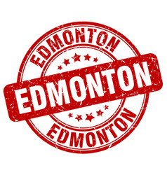Edmonton stamp vector