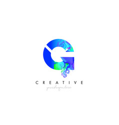 g letter icon design logo with creative artistic vector image