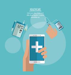 medical technology gadget design vector image