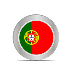 National flag republic portugal vector