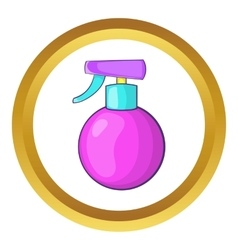 Spray icon vector