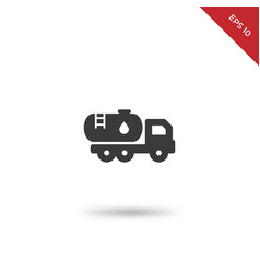 water truck icon vector image