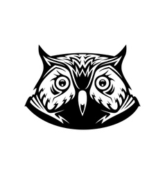 Wise old owl vector