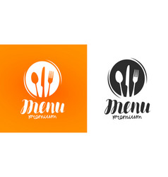 cooking cuisine logo icon and label for design vector image