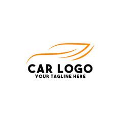 Car logo design modern concept art vector