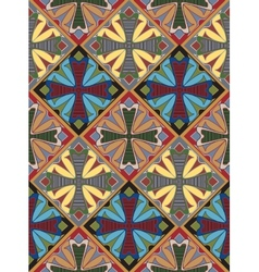 Medieval Cross Tile Pattern vector