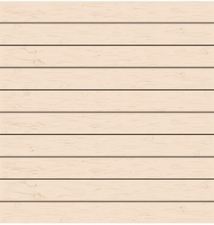 Realistic wood texture background vector