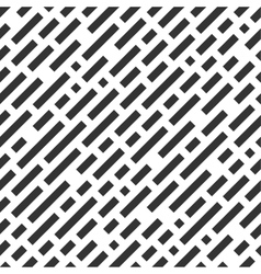 Repeatable white pattern with black stripes vector