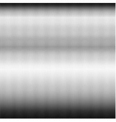 white dots on black background vector image