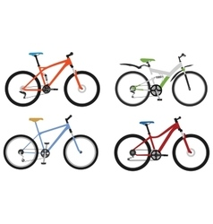 Bicycles Part 2 vector image
