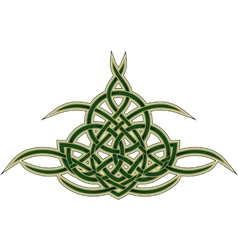Celtic decorative pattern vector image vector image