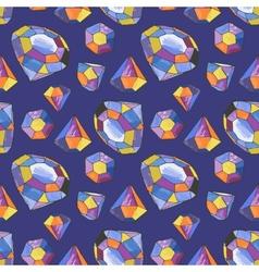 Glamour diamond background vector