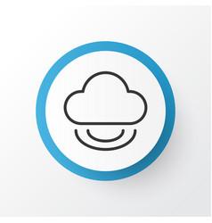 virtual icon symbol premium quality isolated vector image vector image