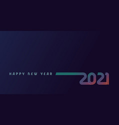 2021 colored lines design vector image