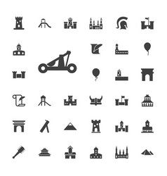 History icons vector