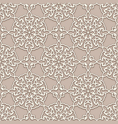 Lace texture seamless pattern vector
